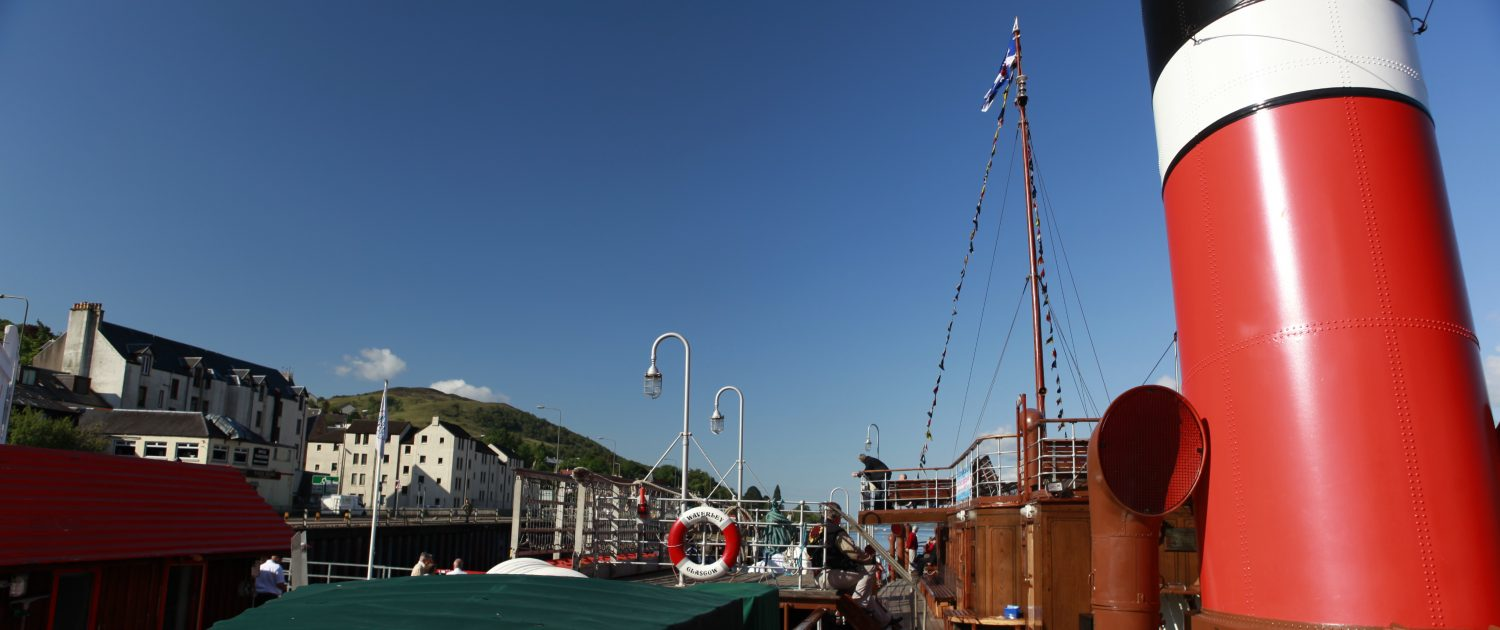 The Waverley visiting Fort William